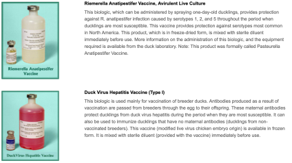 Vaccines and how to administer them, developed by Dr. Price. Source: [9]